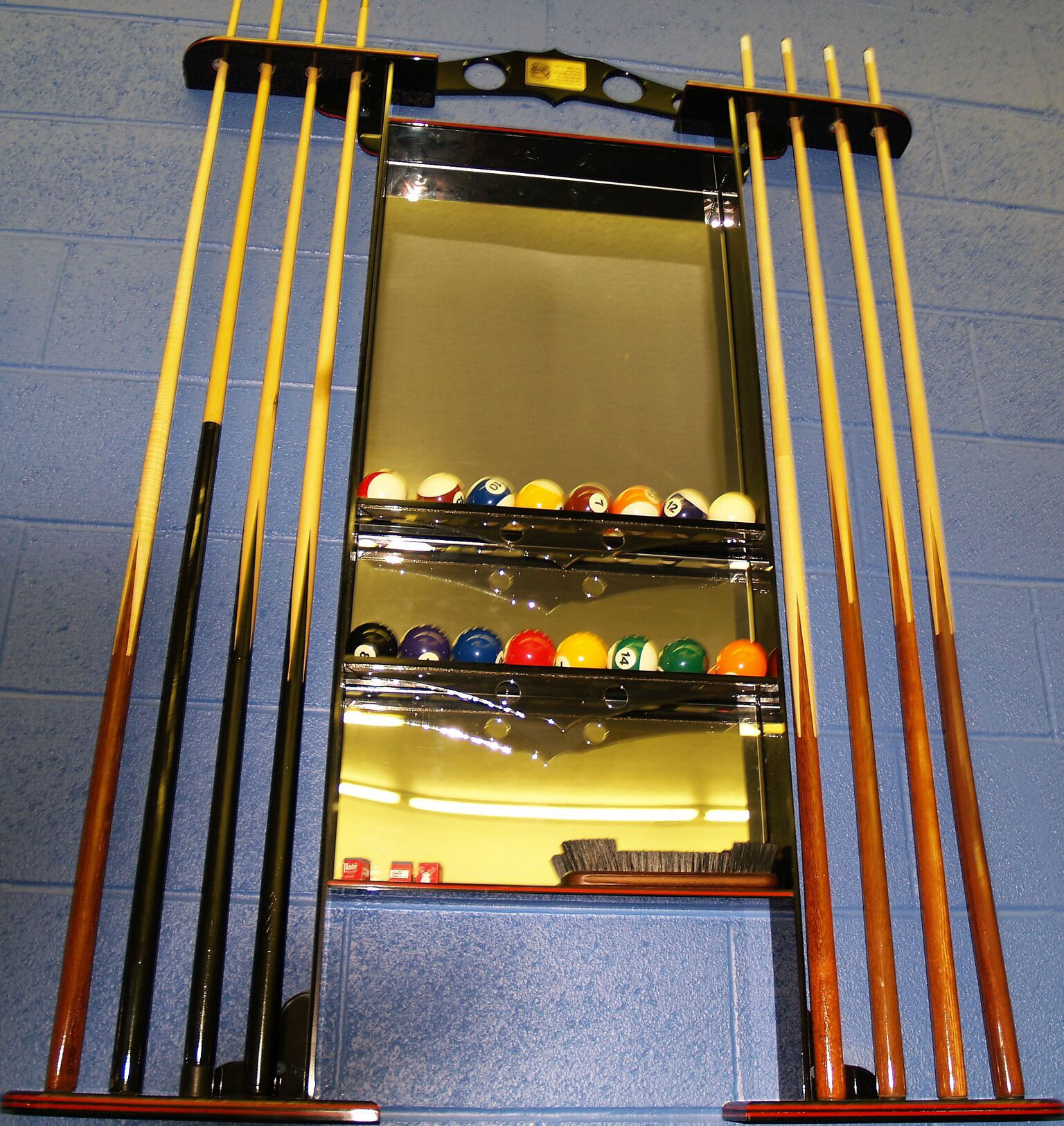 Plastic Pool Cue Rack