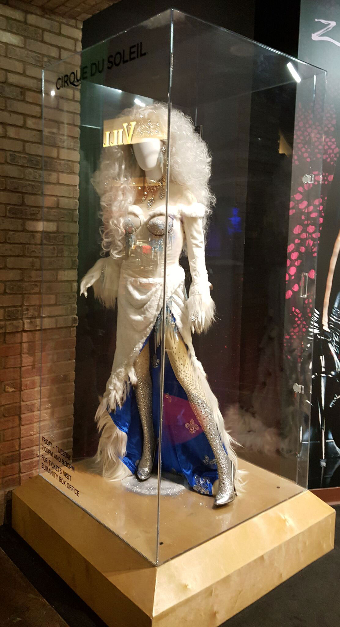 Zarkana Plastic Mannequin Display