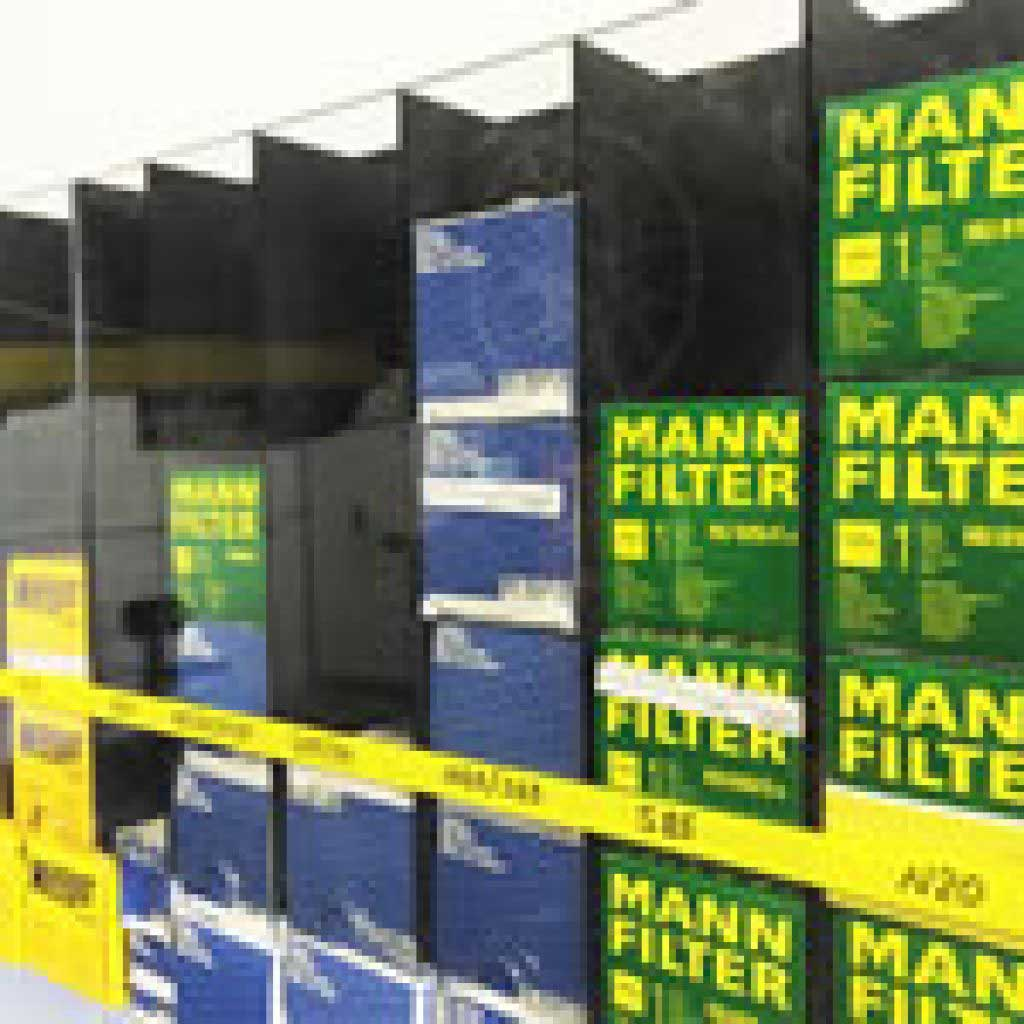 Plastic Oil Filter Bins
