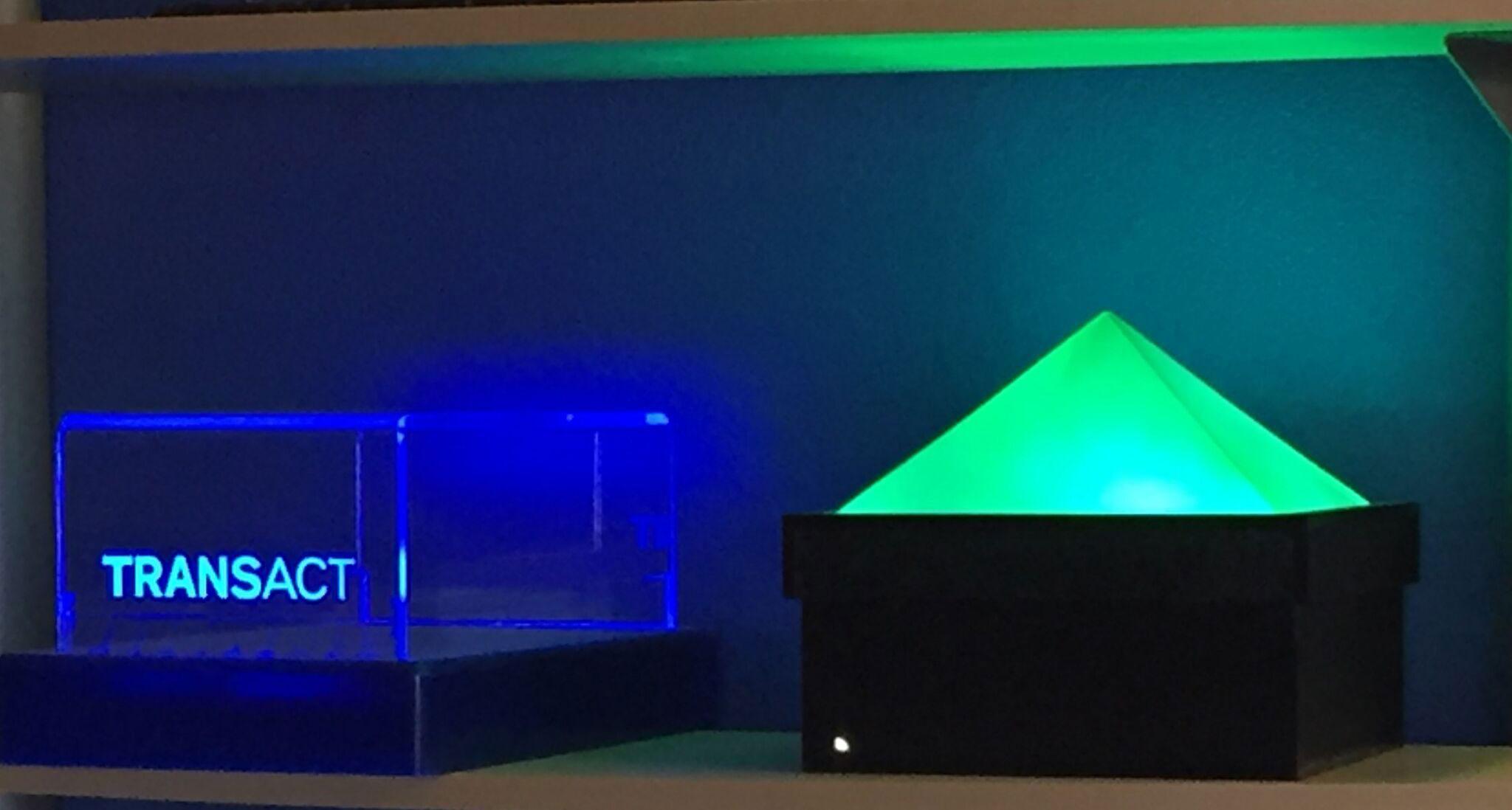 LED Displays Made of Plastic