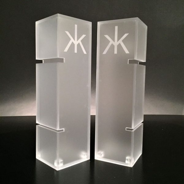 Plastic Etched Hakkasan Tower