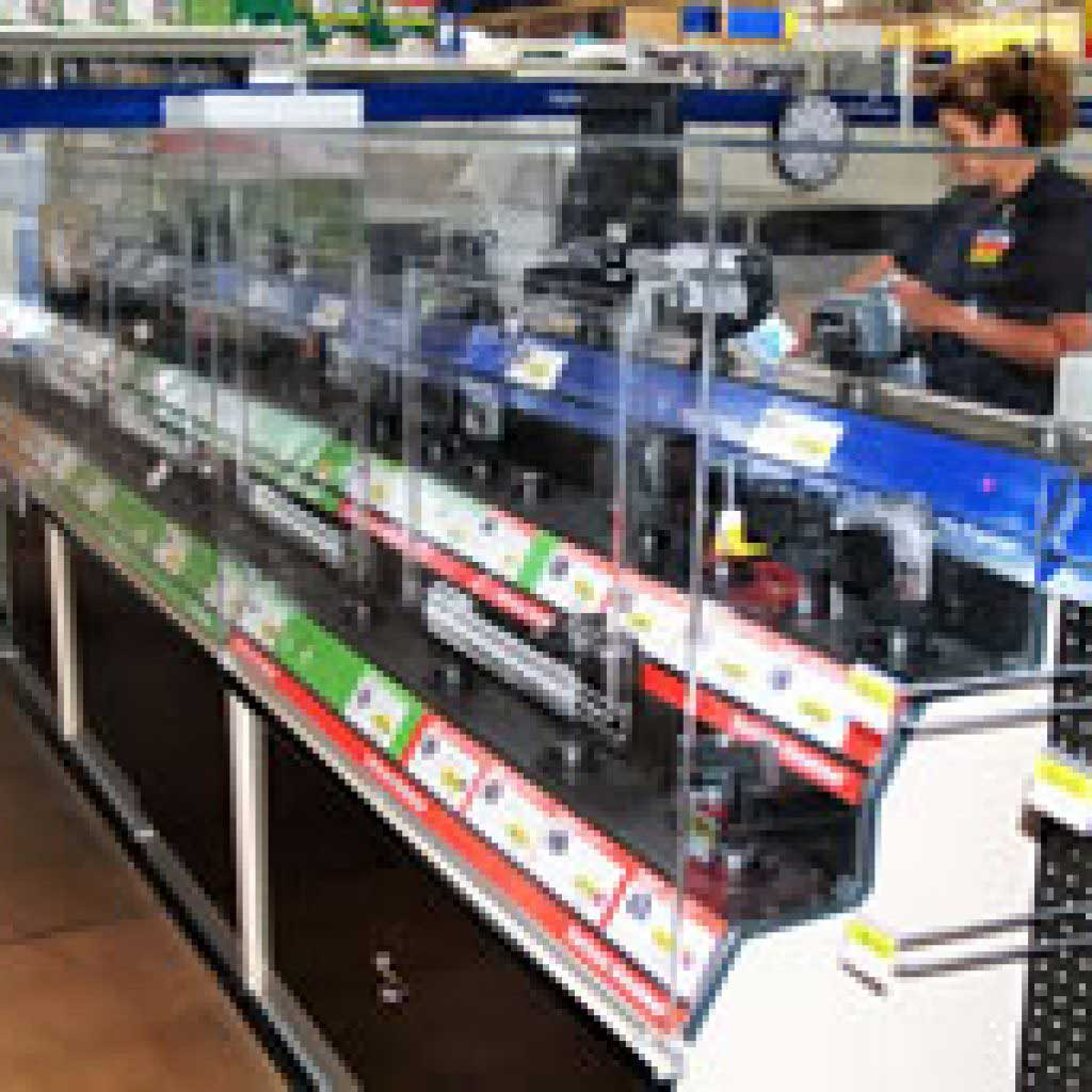 Plastic Retail Camera Display