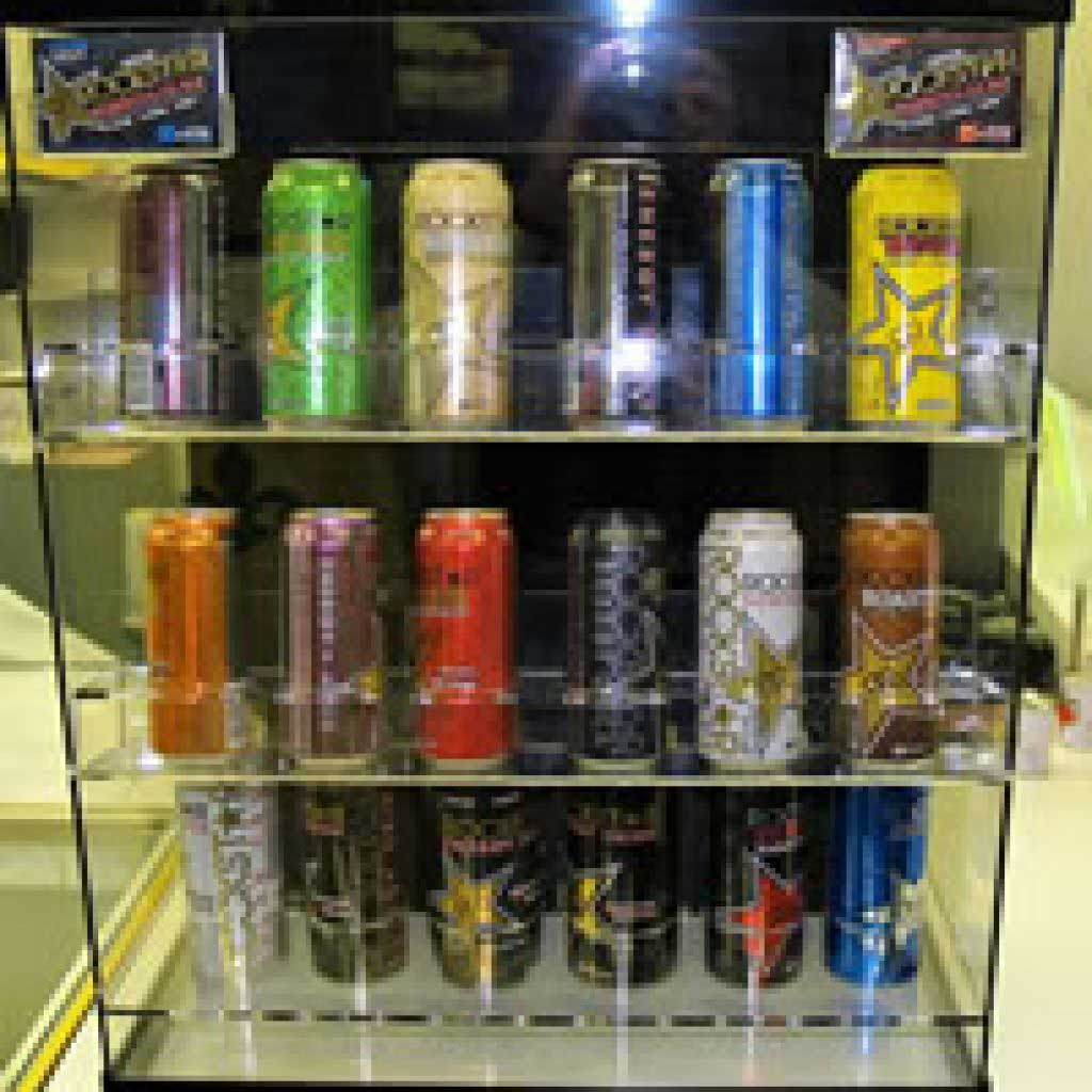 Rockstar Energy Drink Display