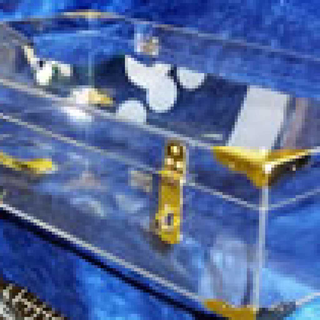 Prize Money Briefcase Display