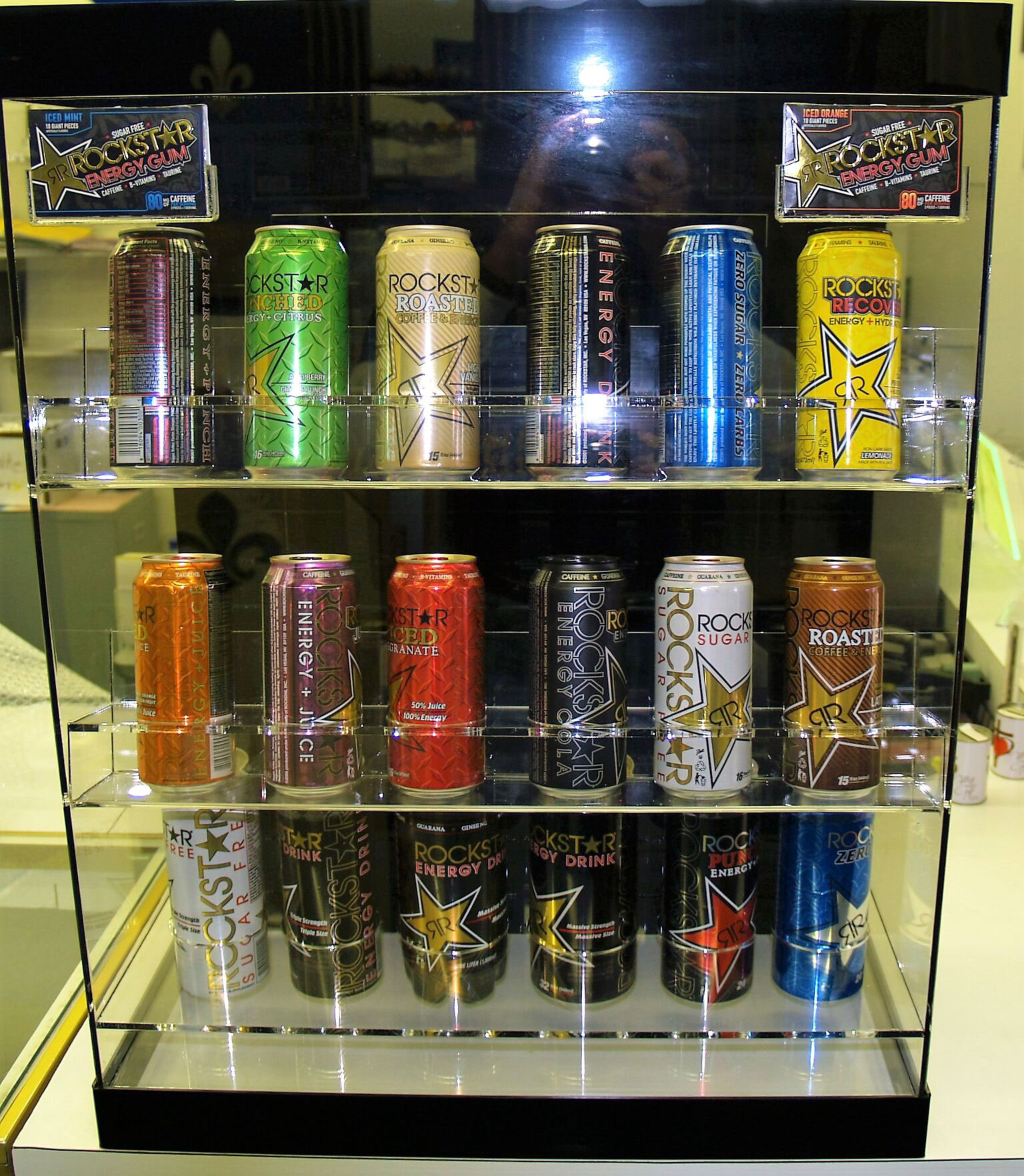 Energy Drink DIsplay 2