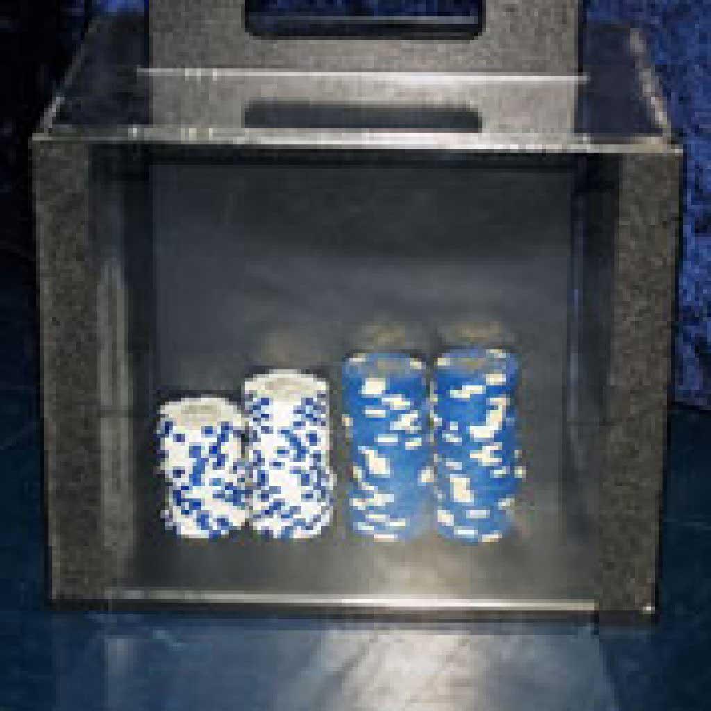 Custom Fabricated Casino Chip Case