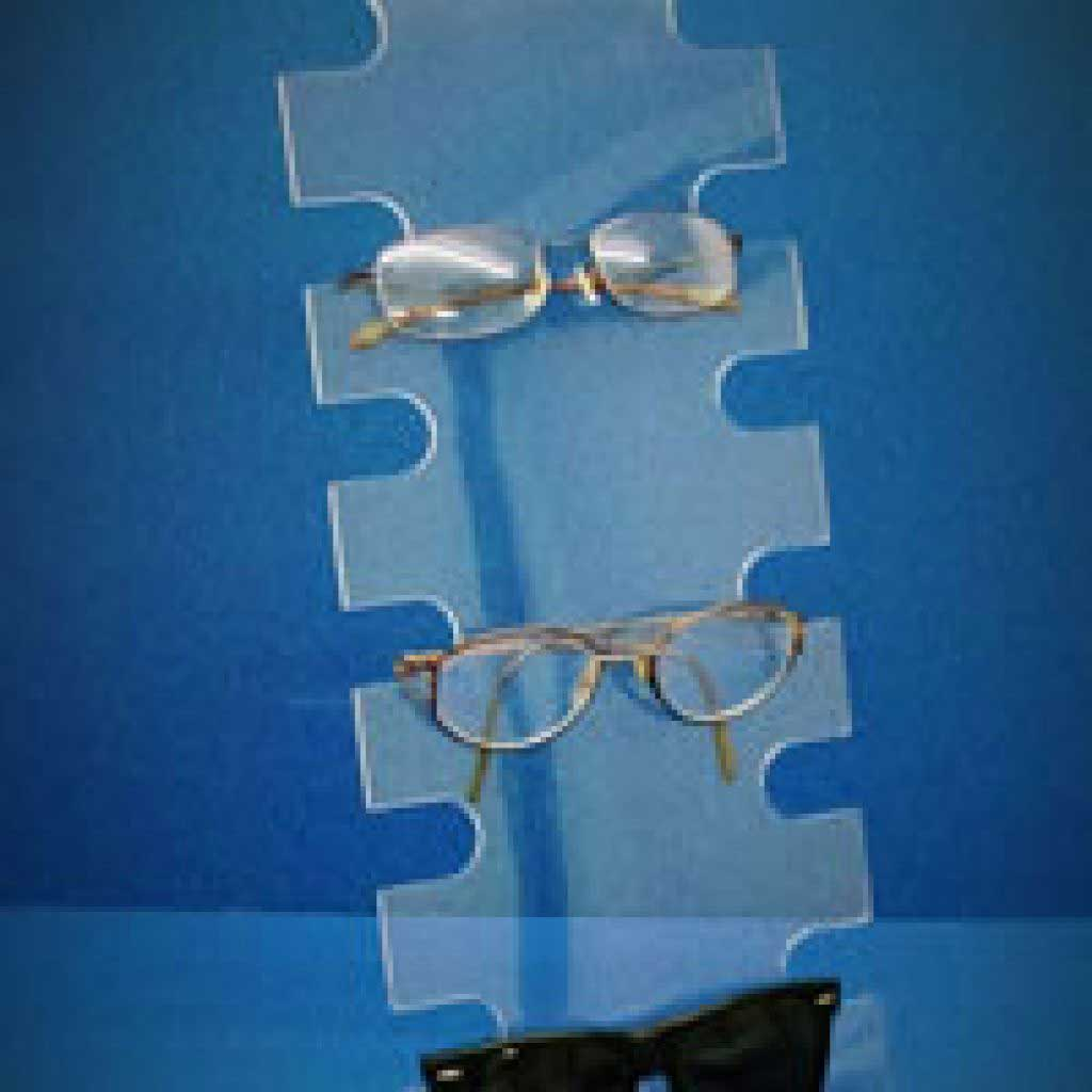 Plastic Glasses Display