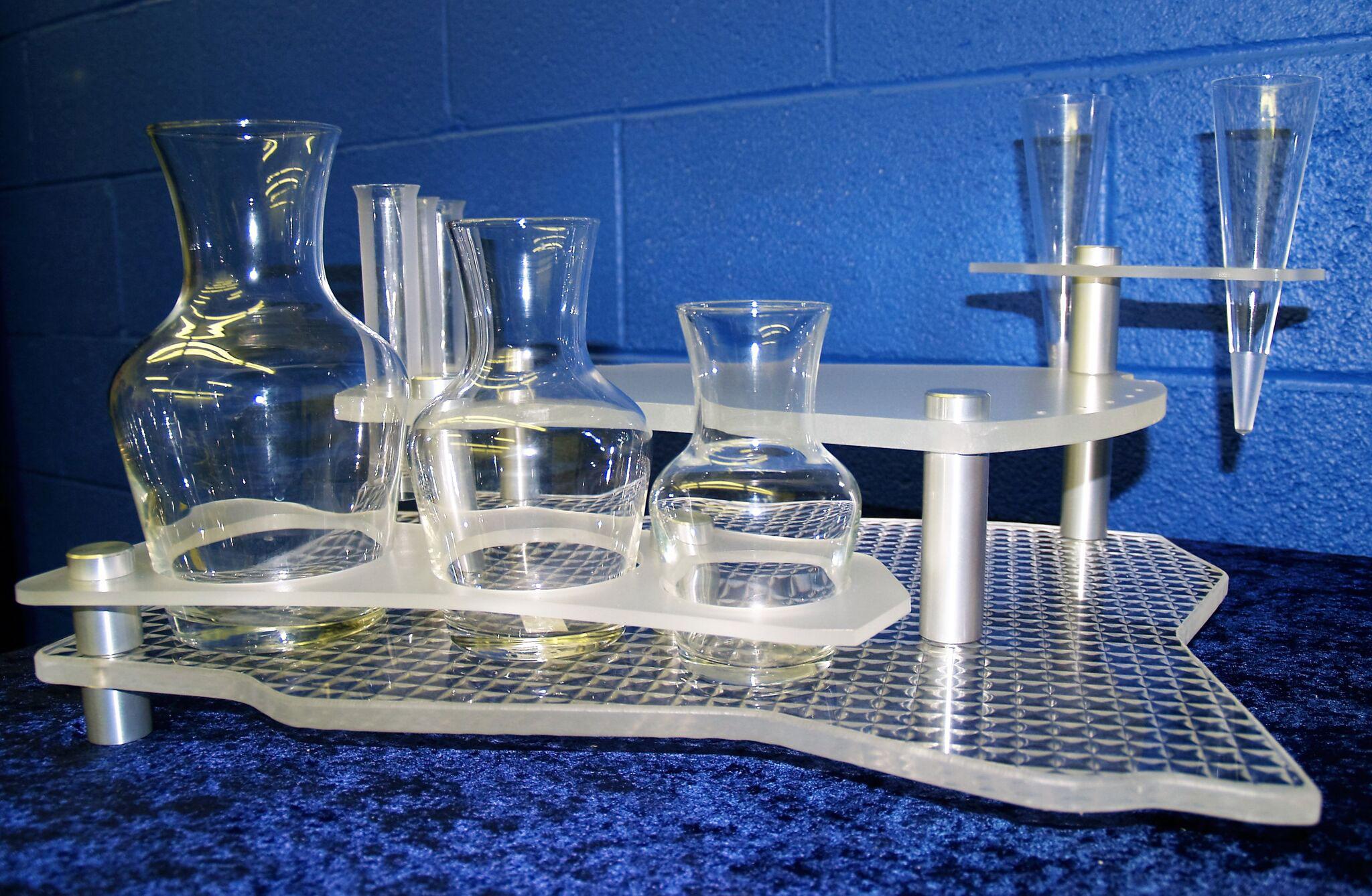 plastic cabana service tray