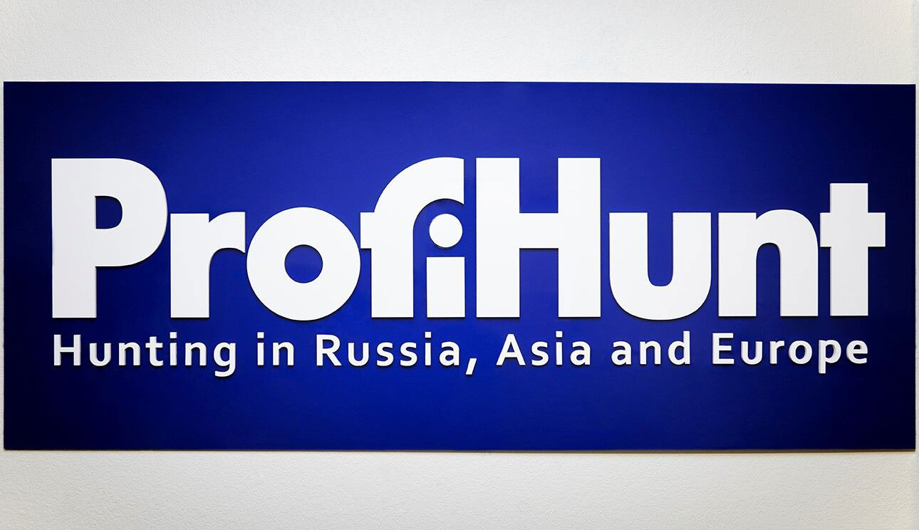 3D Letter Sign for ProfiHunt