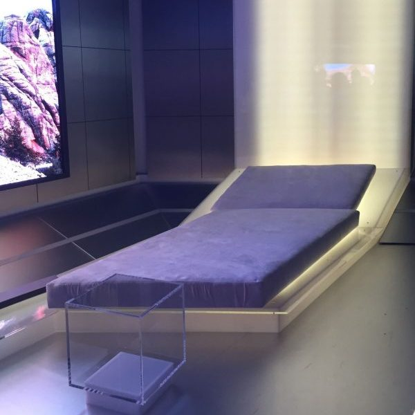 Samsung Bed Seat on Display