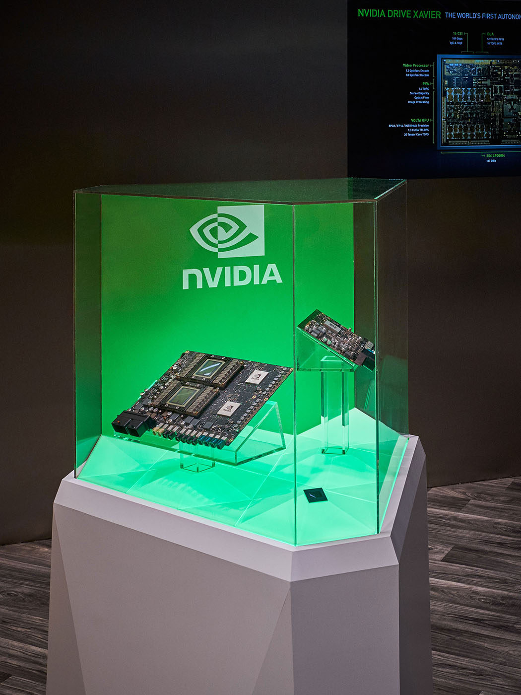 Nvidia Motherboard Plastic Display Case