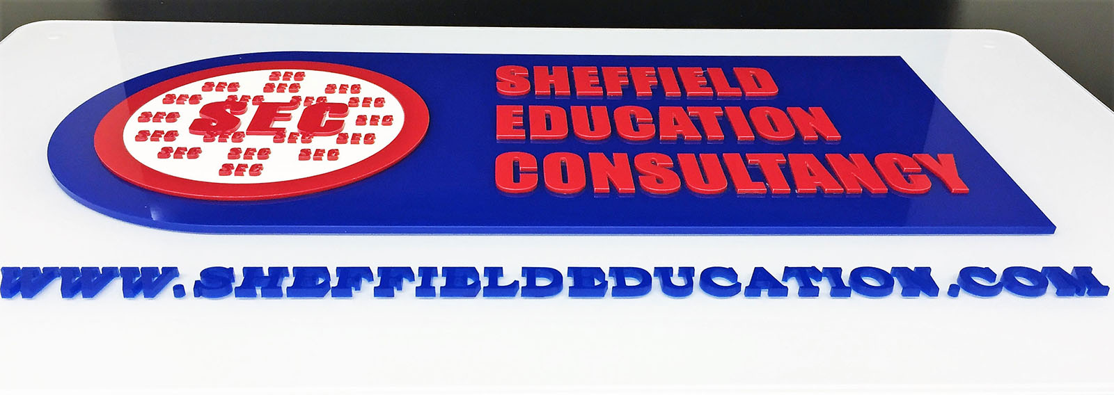 Sheffield Education 3D Letter Logo