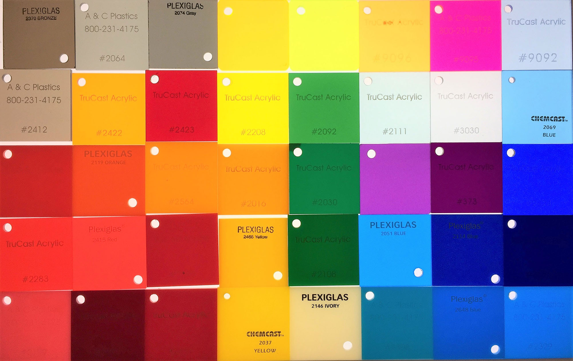 Plastic Color Sheets