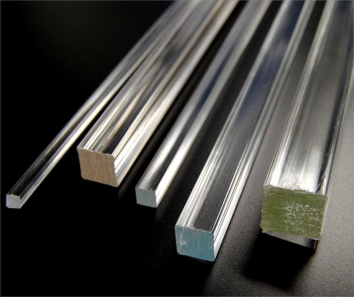 Plastic Square Rods