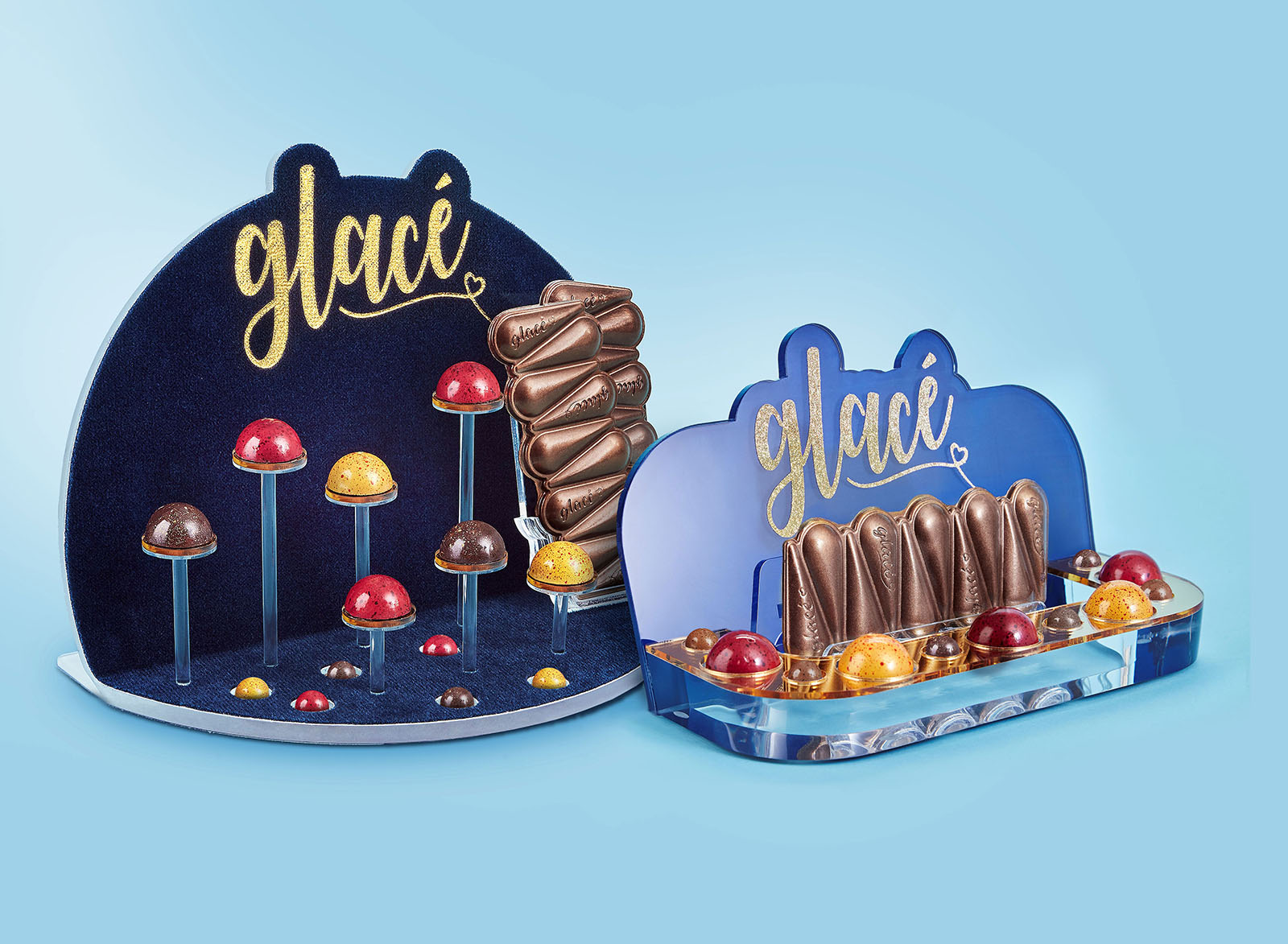 Glace Plastic Displays
