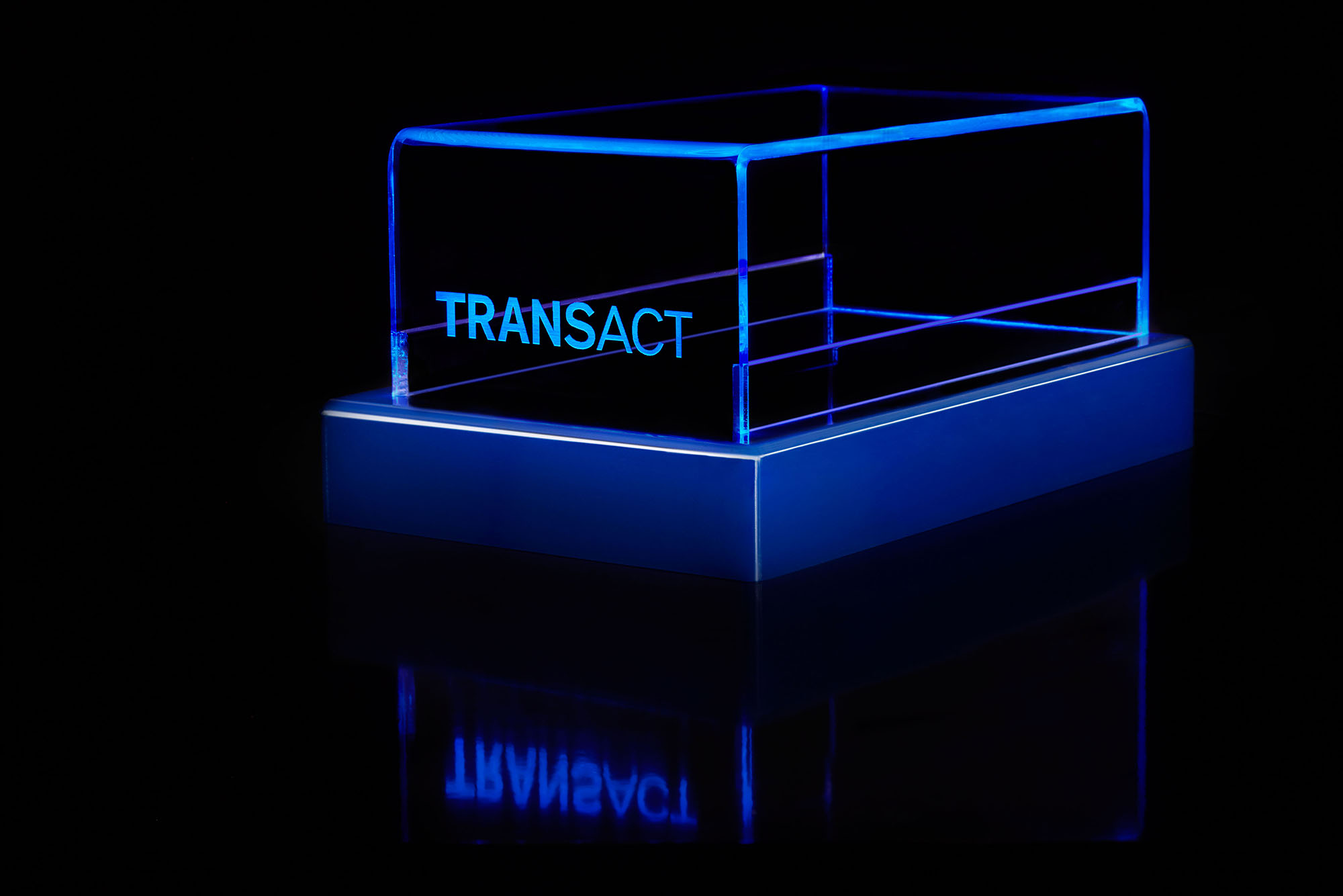 Transact LED Plastic Box