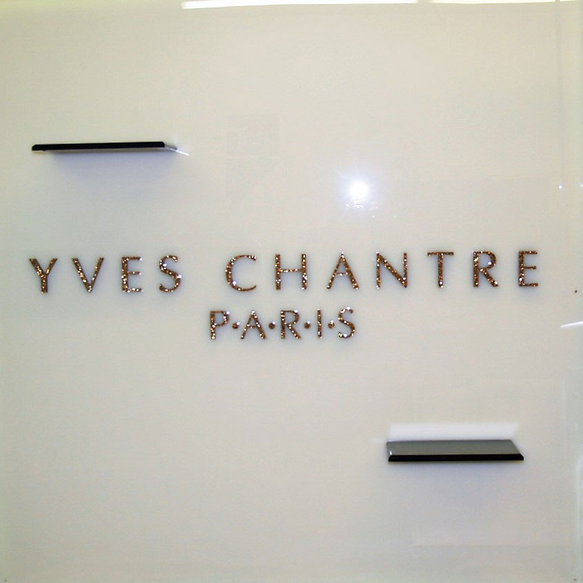 Yves Chantre Paris Sign Display