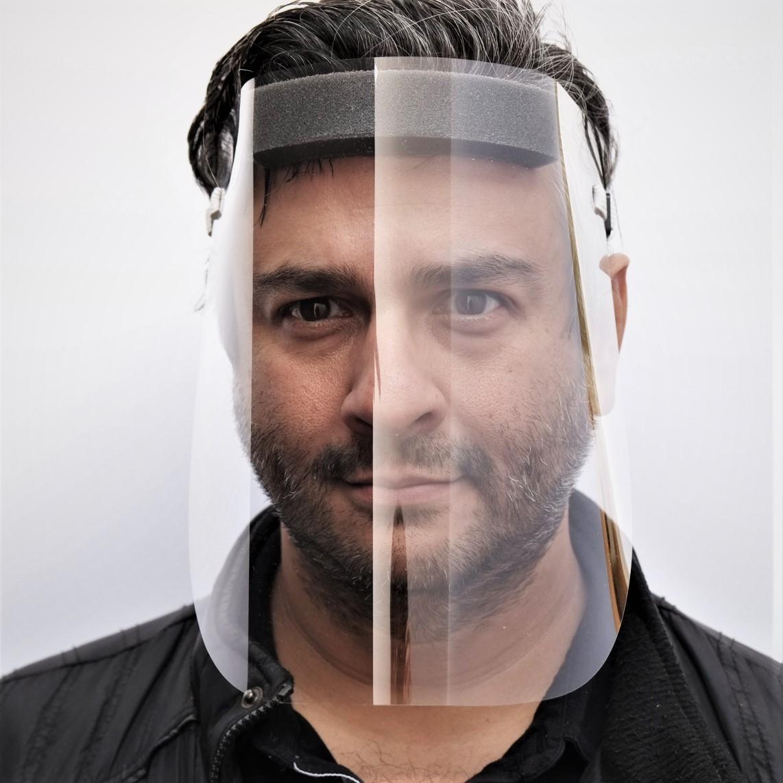 Face Shield w/Stretch Band