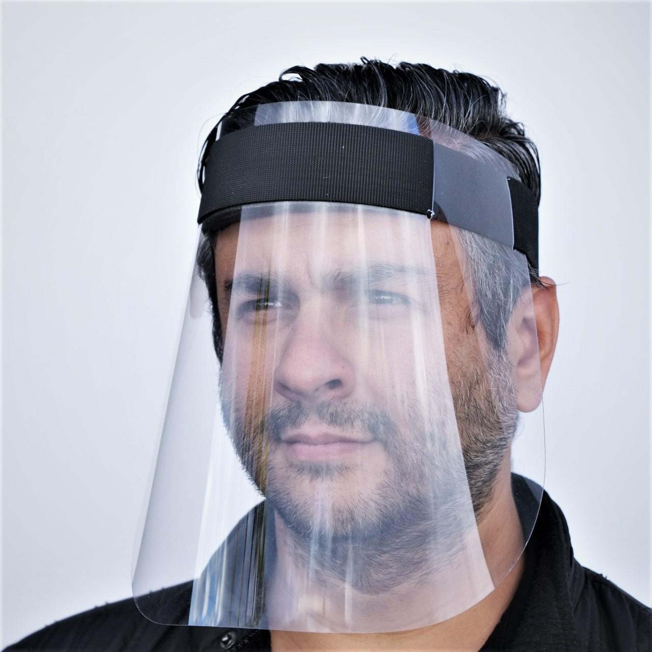 Face Shield w/Velcro Head Band